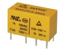 RELAY SUBMINIATURE 2P 5V DC 1A DSY2Y SAN