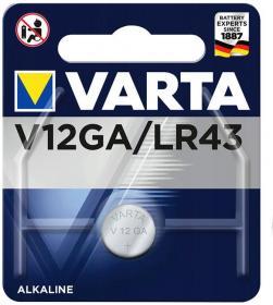VARTA αλκαλική μπαταρία LR43, 1.5V, 1τμχ