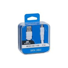 Rivapower 6000 WT12 Micro Usb Cable 1.2M ΛΕΥΚΟ