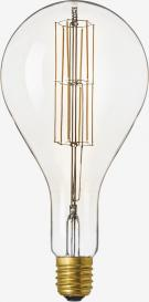 LED Λάμπα Filament PS160 E40 11W 240V Dimmable Clear 2100K Giant Series Calex 425620SPLASHCLEAR